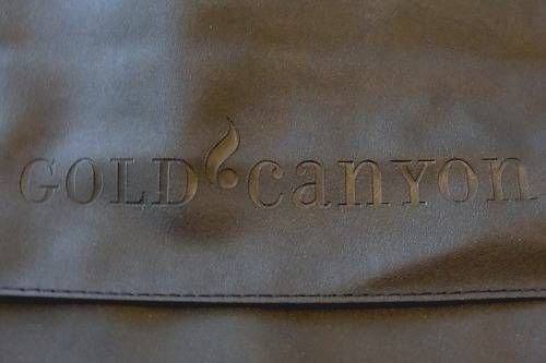 GOLD CANYON CANDLE DUFFEL CARRY ON LUGGAGE SHOULDER BAG