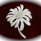 Goldtone Floral Collectible Brooch - NICE!