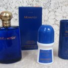 Avon Mens Mesmerize Cologne SprayPowder Talc & Roll-On Deodorant Set