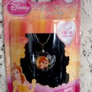 Disney Princess Barbie Light Up Pendant Necklace Jewelry