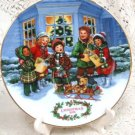 Avon Perfect Harmony 1991 Christmas Plate