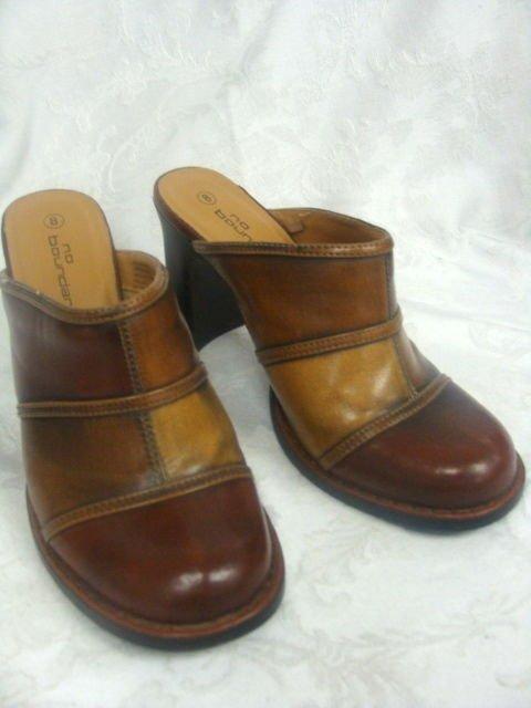 No Boundaries High Heel Clog Shoes Size 8