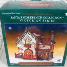 Santa's Workbench Collection  Patchworks Quilt Shoppe  Victorian Series LightedP