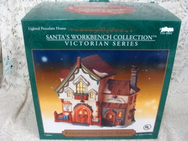 Santa's Workbench Collection  Patchworks Quilt Shoppe  Victorian Series LightedP