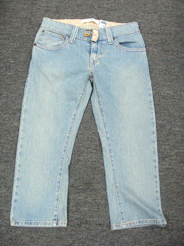 Womens Ladies Levi Jean  Capri Pants Size 8