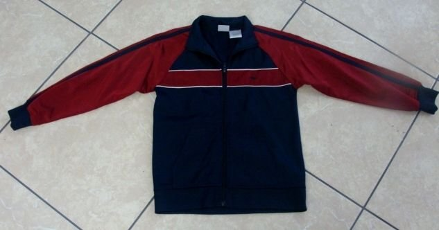 ATHLETIC WORKS CHILDRENS BOYS JACKET SIZE SMALL 5 / 6