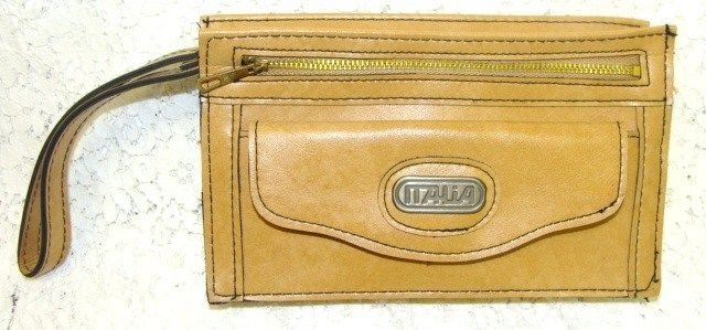 ITALIA BRAND ID CARD WALLET CHECK BOOK CREDIT CARD