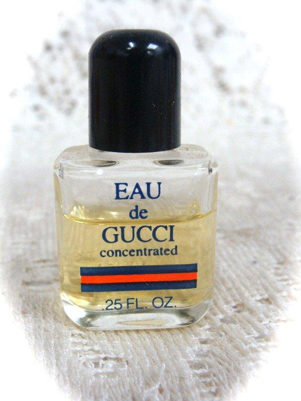 Eau de Gucci Concentred   Miniture Bottle .25 oz.