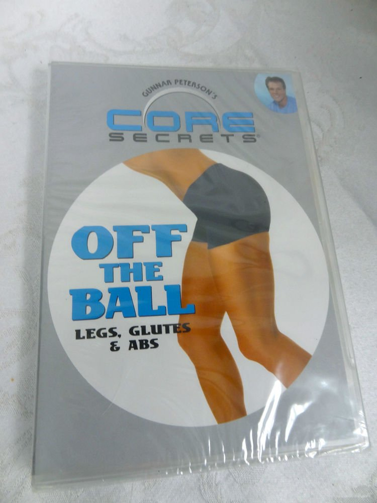 CORE OFF THE BALL LEGS, GLUTES & ABS DVD - (SEALED)