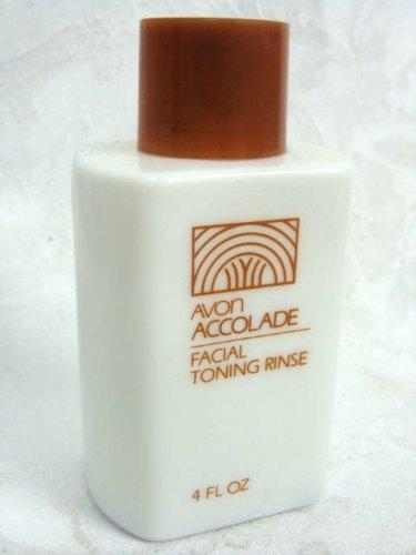 Avon Accolade Facial Toning Rinse Vintage Bottle