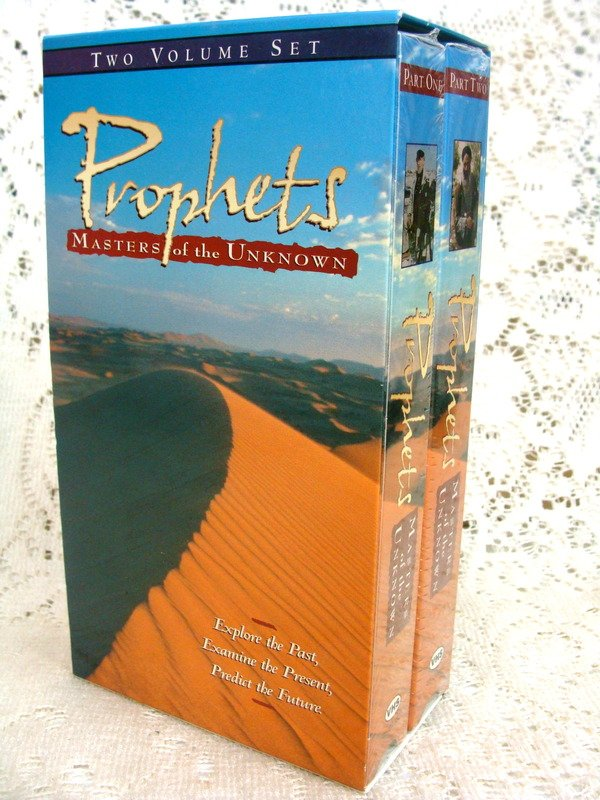 Prophets Masters of the Unknown   Two Volume VHS Set NEW