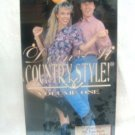 Doin It Country Style! Volume One Dancing VHS - (SEALED)