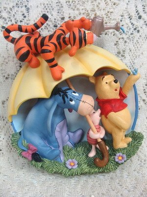 Disney Winnie the Pooh Tigger  Puzzling Sort of WeatherBradford Limited Edition