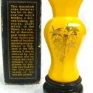 Avon Sweet Honest Cologne Golden Bamboo Vase