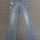 Disney Hanna Montana Girls Jeans Pants Size 7 - (NICE!)