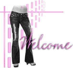 Womens Ladies Long Pants Blue  Denim Jeans Size 12