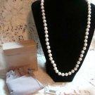 Avon Pearlustre Necklace Pearl Designer Choker L@@K!
