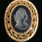 Cameo Brooch Pin - (vintage)