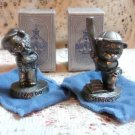 Avon Fine Pewter Figurines Set of (2) - L@@K!