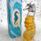 Avon Sea Horse Miniture Decanter Heres My Heart Cologne 1.5 oz.
