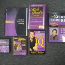 Choose to be Rich by Robert T.  Kiyosaki 6 pc DVD & Book Set