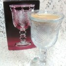Avon Heart & Diamond Fostoria Loving Cup w/ Perfumed Candle Holder