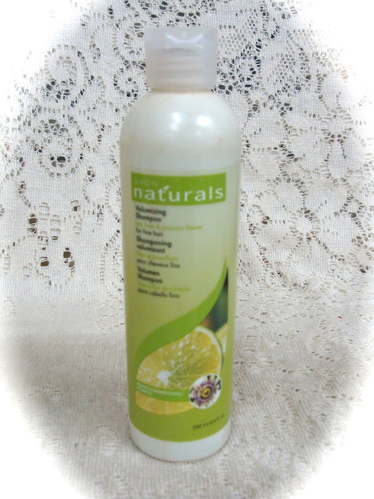 Avon Naturals Volumizing Shampoo Key Lime & Passion Flower