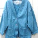 Womens Ladies Light Blue Blair Sweather Size Large