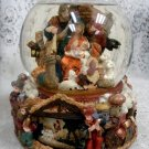 Kirkland Large Musical Waterglobe w/ Revolving Base Christmas Nativity