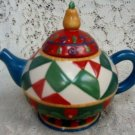 Heartwood Creek 2004 Jim Shore Designs Tea Pot w/ Candle
