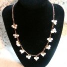 Avon PEARLESSENCE PEARL CLUSTER NECKLACE CHOKER CHAIN L@@K!