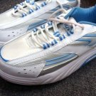 Womens Ladies Curves White Athletic Toning Shoes Size 9.5