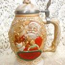 Avon Fathers Christmas Stein 1994