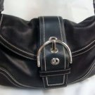 Coach Womens Ladies Black Handbag Purse #10578