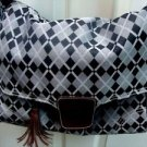 Kalen.com Black & Grey Diaper Baby Bag
