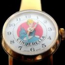 Disney Cinderella Swiss Made Bradley Collectible Hand Winding Vintage Watch