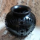 Black Southwest Vase Collectible Unique