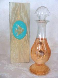 Avon Sea Fantasy Bud Vase  Skin-So-Soft Bath Oil Decanter 6 fl. oz.