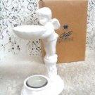 Avon Cherub Fragrance Diffuser Porcelian w/ Candle