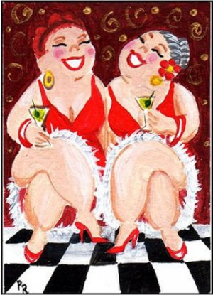 ACEO PRINT - Friendship 1 - by Patricia Ann Rizzo