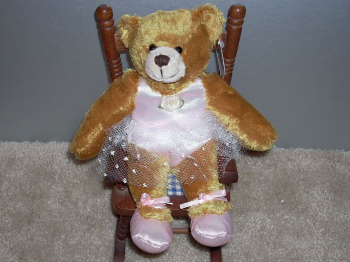 Ballerina Bear Plush Sachet