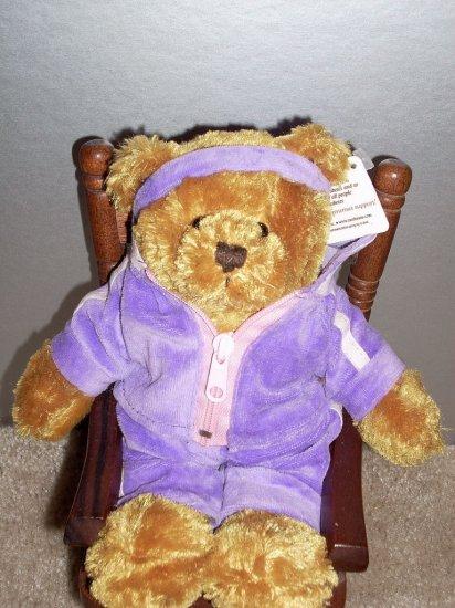 Workout Bear Plush Sachet