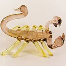 Hand Blown Glass Violet Scorpion Art Glass Figurines Animals Thai Gifts