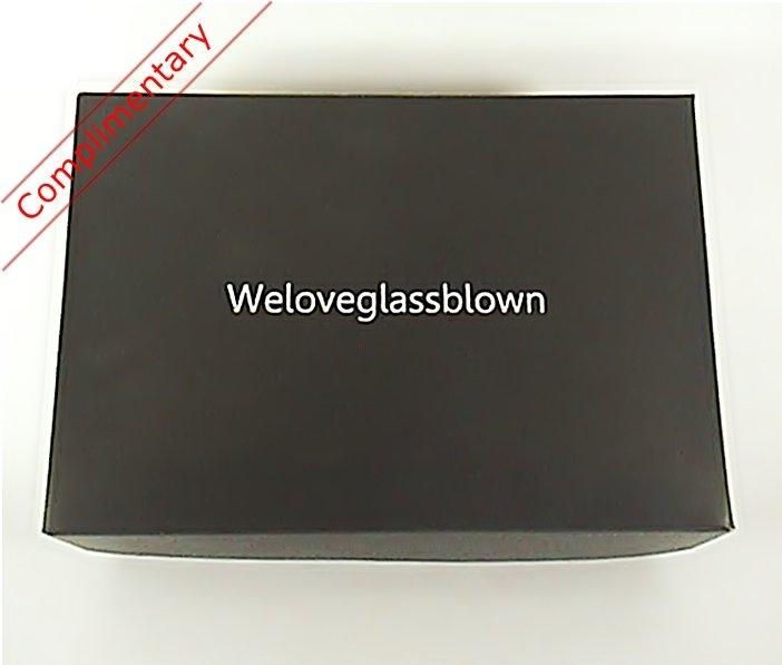 Box with Glass Figurines