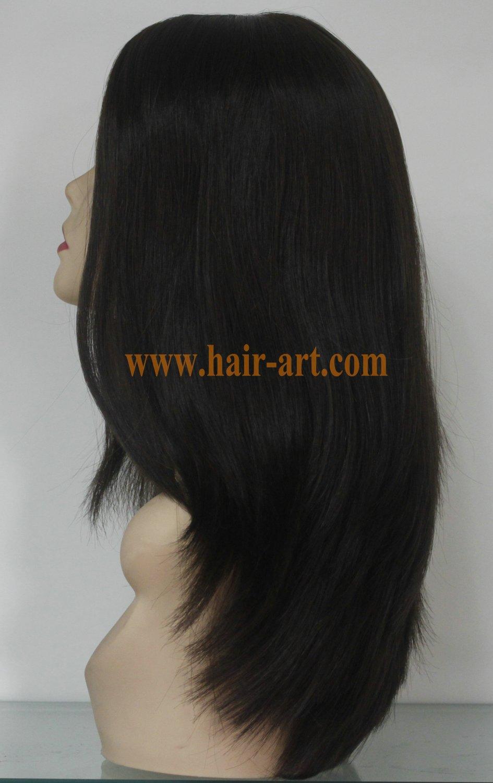 "#4-16""-Mongolian hair stock jewish wig (Sheitel Kosher wigs)"