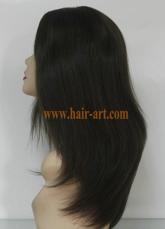 "#6/8-18""-Mongolian hair stock jewish wig (Sheitel Kosher wigs)"