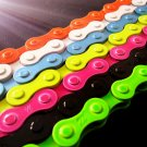 Colorful Fixie Fixed Gear Bike Bicycle Chain , 97 Links