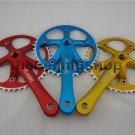Fixie Fixed Gear Bike CNC Alum 46T Crank Set & Arm