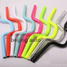 Light BMX Fixed Gear Bike Riser handle bar (Baked Paint)