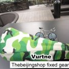 Vurtne Fixie Bicycle Seat Cover (Camo /Standard)